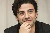Actor Oscar Isaac, Golden Globe winner