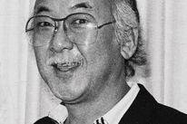 Actor  Pat Morita, Golden Globe nominee