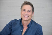 Actor and director Rob Lowe, Golden Globe winner