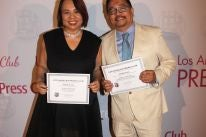 HFPA members Janet and Riben Nepales