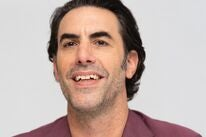 Actor and comedian Sacha Baron Cohen, Golden Globe winner