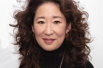 Actress Sandra Oh, Golden Globe winner