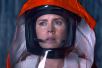 "Golden Glopbe winner Amy Adams in a scene from ""Arrrival"""