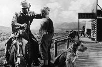 """A scene from """"Shane"""", 1953"""