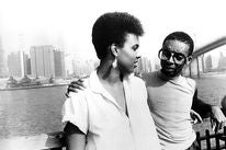 """Tracy Camilla Johns and Spike Lee in a scene from """"She's Gotta Have It"""", 1986"""