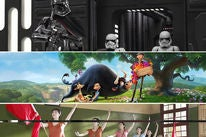 """Scenes from """"Star Wars: The Last Jedi"""", """"Ferdinand"""" and """"Youth"""" (2017)"""
