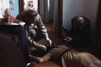 "A scene from ""My Murderer"", Russia"