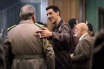 """Sacha Baron Cohen ina sceen from the mini-series """"The Spy"""", 2019"""