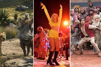 """Scenes from """"The Lion King"""", """"Once Upon a Time in … Hollywood"""", """"Aladdin"""""""