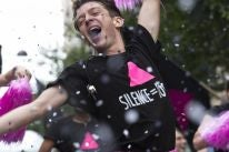 "A scene from the film ""BPM (Beats Per Minute)"""