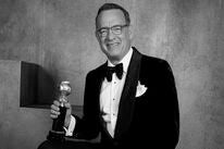 Tom Hanks with his Cecil B. deMille award - 2020