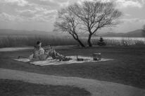"A scene from ""Ugetsu"", 1953"