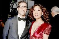 Sandra Oh and Adam Samberg