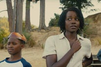 "Lupita Nyong'o, Evan Alex, and Shahadi Wright Joseph in ""Us"" (2019)"
