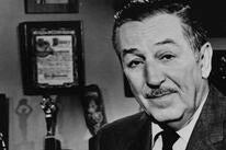 Walt Disney with his Cecil B. deMille award