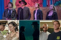 """Scenes from """"Zombieland: Doubletap"""", """"Midway"""", """"Doctor Sleep"""", """"Playing with Fire"""""""