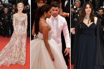 Dame Helen Mirren, Priyanka Chopra with Nick Jonas, Monica Bellucci