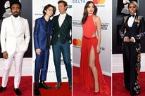 Donald Glover, Timothée Chalamet with Armie Hammer, Hailee Steinfeld and Janelle Monáe