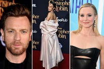 Ewan McGregor, Rainy Milo and Kristen Bell