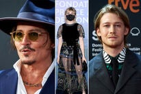 Johnny Depp, Maisie Williams, Joe Alwyn