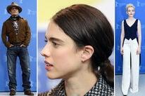 Johnny Depp, Margaret Qualley, Julia Garner