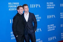 Actors Jamie Bell and Taron Egerton