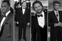 Sean Combs, Leonard DiCaprio, Gerard Butler and Pierce Brosnan
