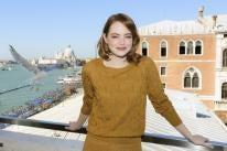 Emma Stone, Golden Globe nominee, in Venice 2016