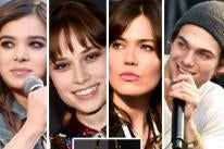 Hailee Steinfeld, Makenzie Leigh, Mandy Moore, Dylan Sprayberry and Jennifer Tilly's purse
