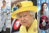 Stefanie Giesinger, Queen Elizabeth II and Sophie Turner