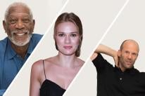 Morgan Freeman, Tori Anderson and Jaston Statham