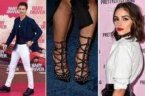 Ansel Elgort, Serayah's shoes and Olivia Culpo