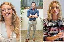 Blake Lively, Luke Evans and Margot Robbie