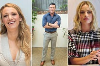 Blake Lively, Luke Evans and Margot Robbie
