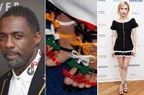 Idris Elba, Tahyna Macmanus and Emma Roberts