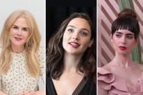 Nicole Kidman, Gal Gadot and Lily Collins