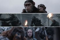 "Scenes fro ""War for the Planet of the Apes"""