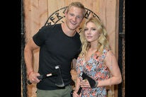 Actors Alexander Ludwig and Katheryn Winnick  at SDCC 2019