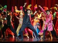 A Bollywood style dancing number