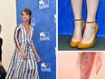 alicia Vikander and shoes at Venice Film Festival