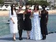 Fan Bingbing, Marion Cotillard, Jessica Chastain, Penelope Cruz and Lupita Nyong'o in Cannes 2018