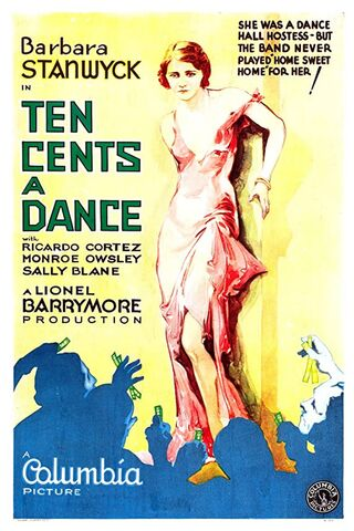 "Original Poster ""Ten Cents a Dance"" (1931)"