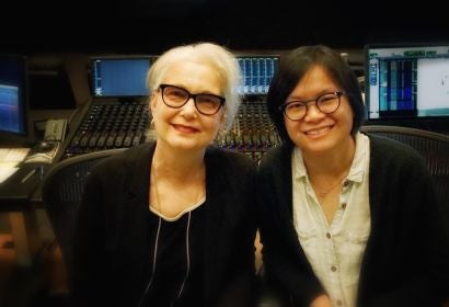 Sound editors Mildred Iatrou Morgan and Ai_Ling Lee