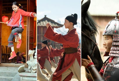 "Scenes from ""Mulan"""