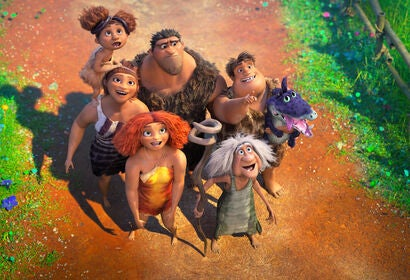 "A scene from ""Croods 2: A New Age"""