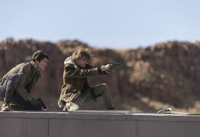 A scene from Maze Runner The Death Cure