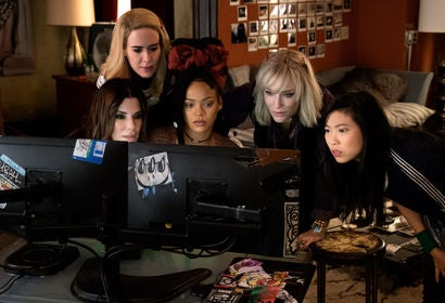 "A scene from ""Ocean's Eight"""