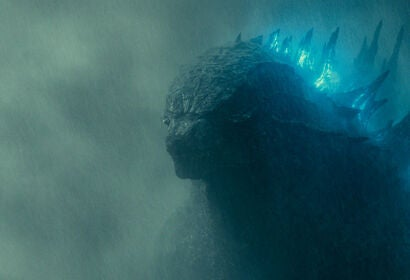 "A scene from ""Godzilla, King of the Monsters"" 2019"