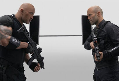 """A scene from """"Fast and Furious Presents: Hoobs & Shaw"""", 2019"""