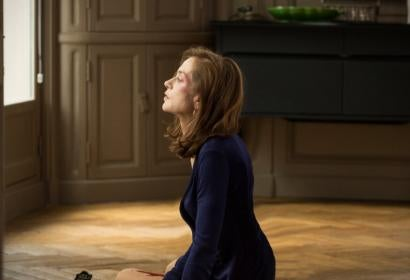 "Isabelle Huppert in a scene from ""Elle"""